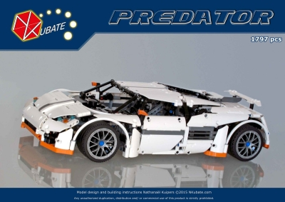 Instructions for Predator Supercar